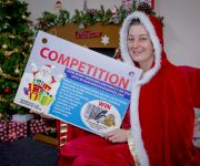 Win festive grotto goodies!