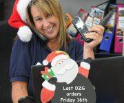 Christmas deadline looms!