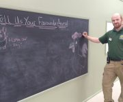 Farm's new chalkboard