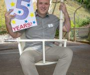 Five years of flight!