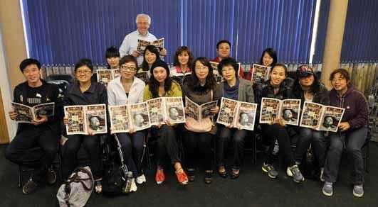 DZG welcomes Chinese teachers