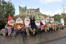 Seven Dwarfs say hello