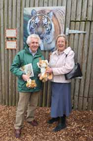 Minister adopts tiger