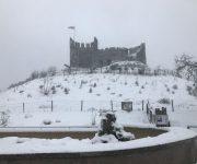 Snow stunning