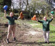 Work starts on new orang enclosure!