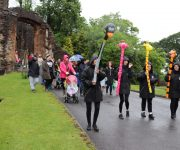 Wellies and waterproofs for Toddle
