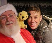 When Sooty met Santa