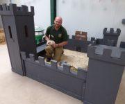 Castle hideout!