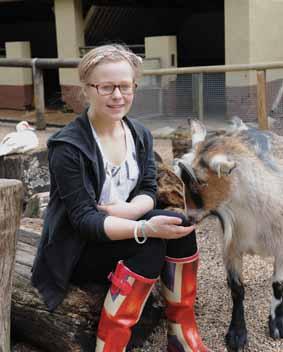 Jessica joins zoo crew