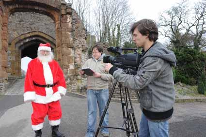 Santa on DZGTV