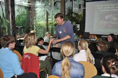 Pupils learn about conservation
