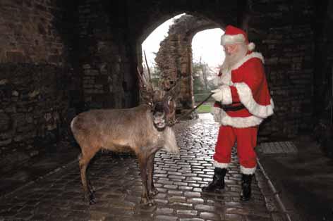 Santa takes over!